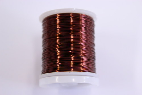 Měděný drátek 0,8mm - tm.hnědý, návin 8,5-9m