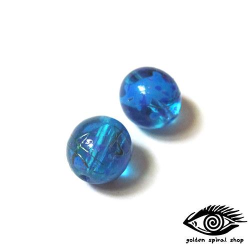 Modré plastové - 2 ks
