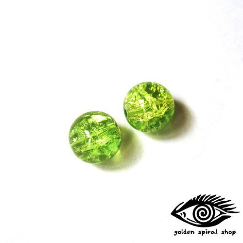 Zelené praskané