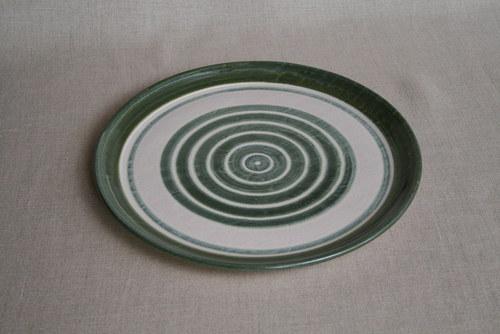talíř-jídelní-zelený