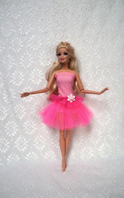 Růžová baletka