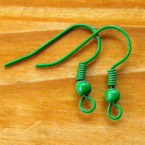 Afroháčky - 10ks - Zelené