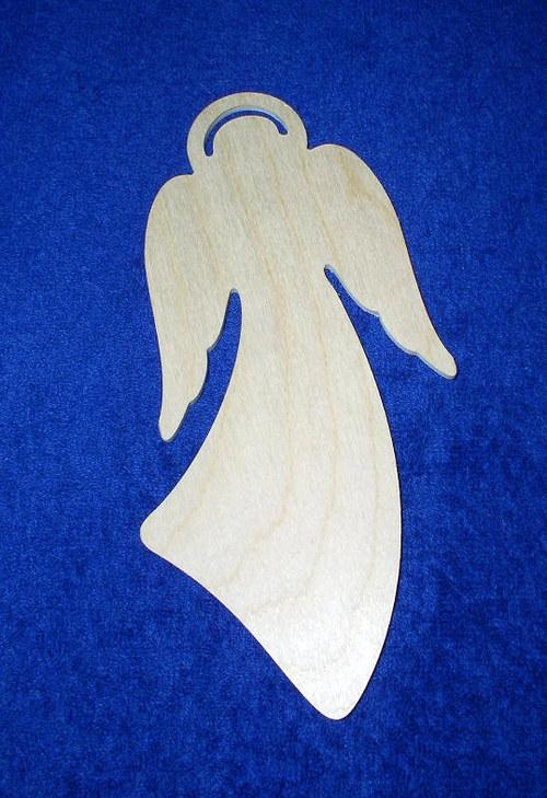 Anděl zaoblený DL524