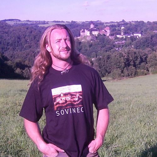 Tričko s motivem hradu Sovinec