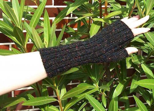 Pletené návleky na ruce Loreta