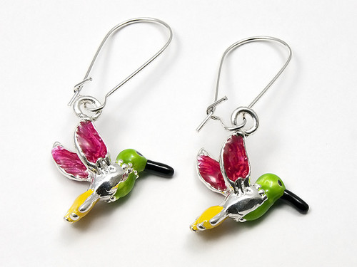 Něžní kolibříci - náušnice