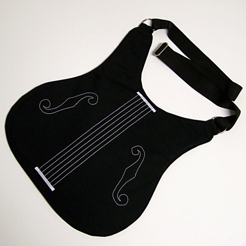 Kytara černá 10
