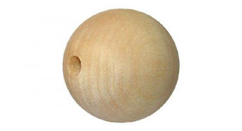 Dřevěná kulička 3,5 cm DL368