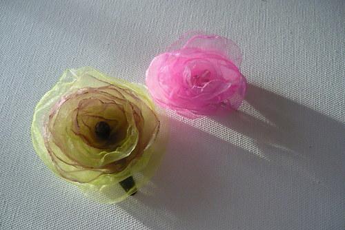 Organzový květ růžový - pineta