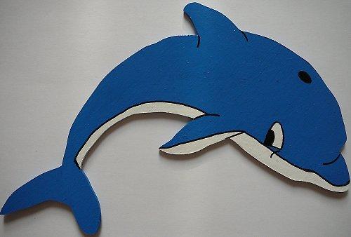 Dekorace delfín