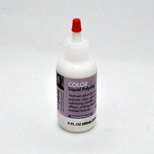 Tekutá polymerová hmota Kato Polyclay / bílá