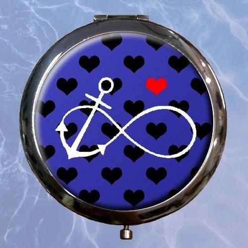 Zrcátko Námořnické - infinity