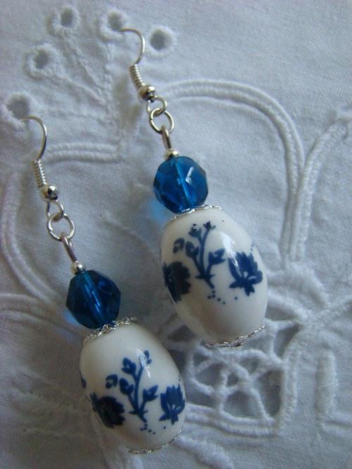 Porcelánky modré