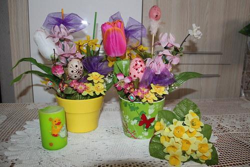 Velikonoční jarní veselá dekorace-větší SLEVA 10%