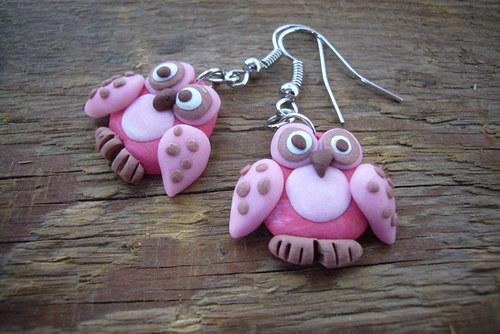 Růžové sovičky