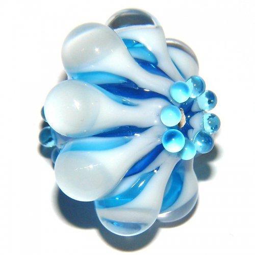 Vinutá perle - EXKLUZIV - tyrkys