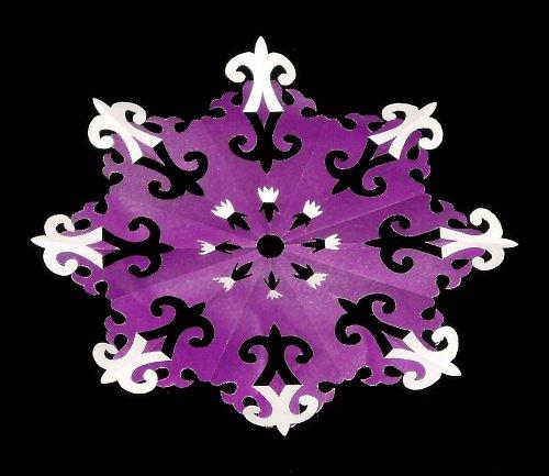 Laminovaná podložka pod hrneček - ornamenty