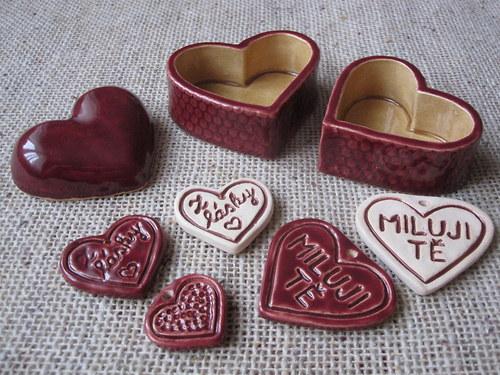 miska na prstýnek z lásky