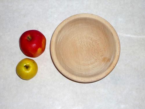 Dřevěná miska M0094 - buk, ø 17 cm