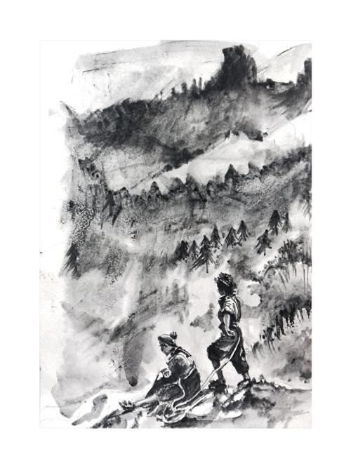 Ceska Krajina, originalni obraz A4