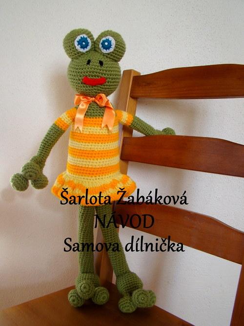 Návod - Šarlota Žabáková  ve žlutém.