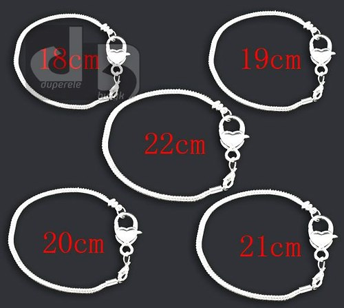 Hrubý náramek 3 mm/20 cm