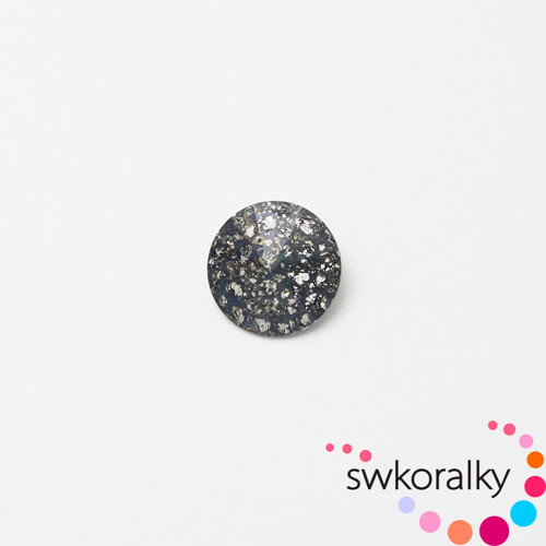RIVOLI 10 SWAROVSKI®ELEMENTS crystal black patina