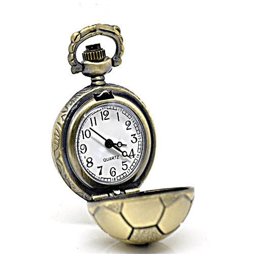 Antické hodinky bronz, Míč,bez řetízku Typ 13