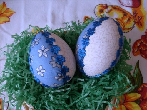 Patchworkové vajíčko - kytička
