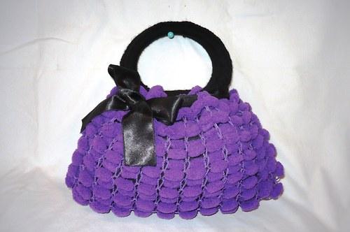 Ručně pletená modní kabelka