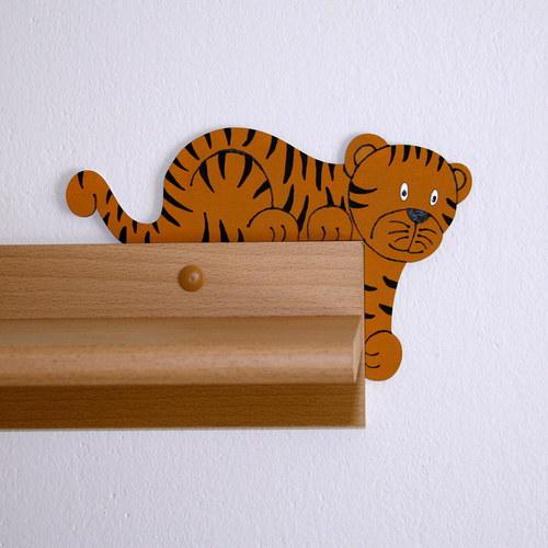 Tygřík - hlídač dveří, pravý
