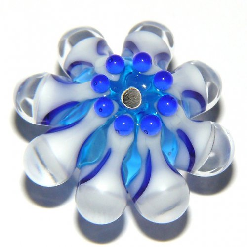 Vinutá perle - EXKLUZIV - tyrkys + kobalt