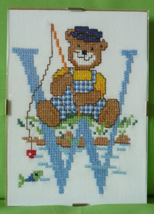 Monogramy s medvídky