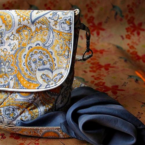 Paisley luxusní kabelka