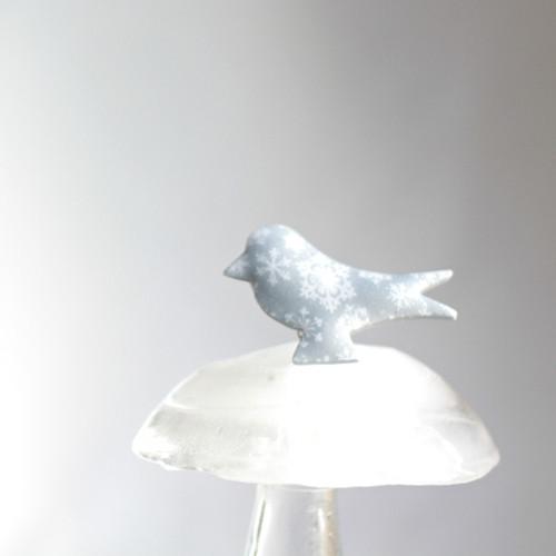 Ptáček zamrzlý
