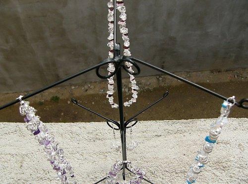 """stojánek na náhrdelníky a náramky \""""Trifid 3\"""""""
