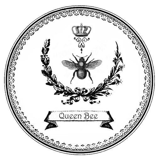 Nažehlovací obrázky - Včela 2 ks