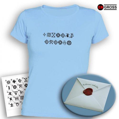 Dámské tričko ŠIFRA - text dle vašeho přání