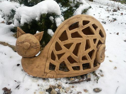 Svítící kočičák