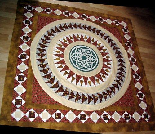 Nástěnná dekorace - mandala