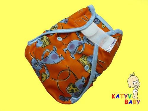 Novorozenecké kalhotky - MYŠKY
