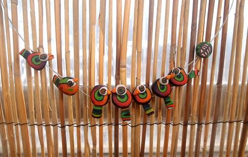 Ptáci na drátě