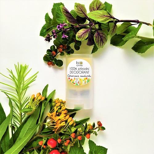 100% přírodní DEODORANT • Citronová meduňka (malý)