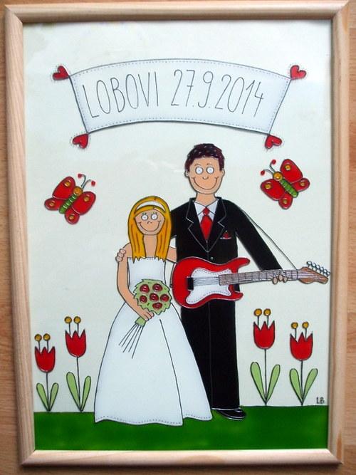 Svatební - ženich s el. kytarou :-)