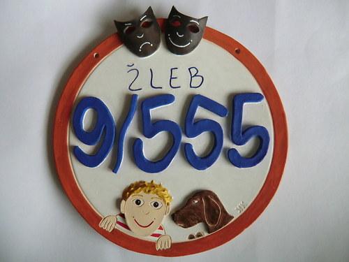 Číslo popisné s adresou