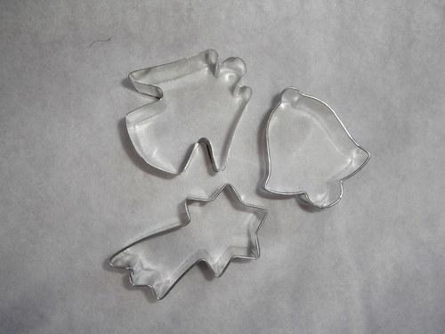 vykrajovačky - fimo,keramika / 33,- Kč