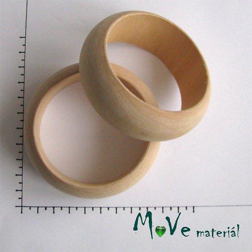Dřevěný náramek korpus 67x30mm