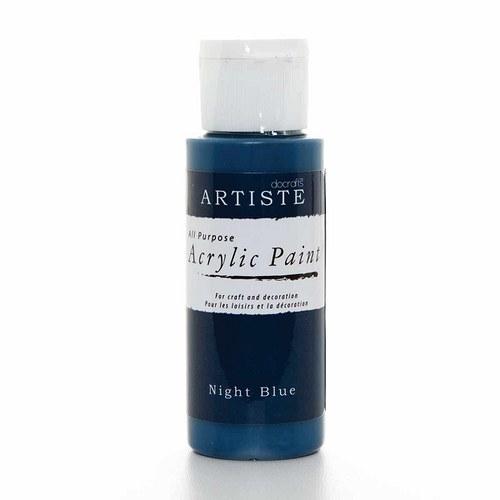 Akrylová barva ARTISTE - tmavě modrá