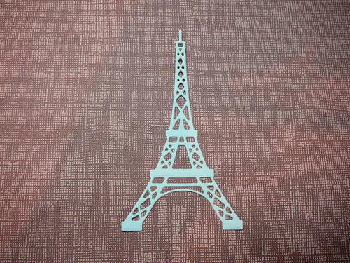 Papírový výsek - eiffelovka