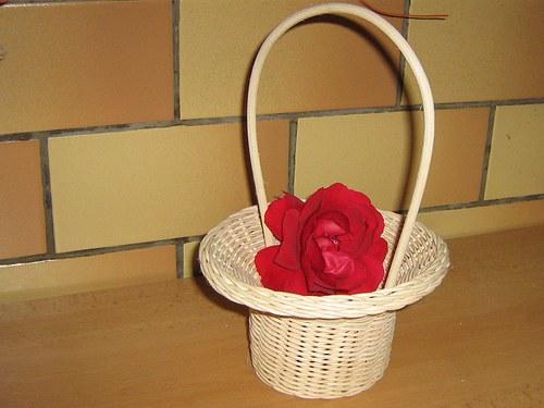 Košíček pro družičku